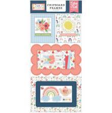 Echo Park Little Dreamer Girl Chipboard 6X13 - Frames