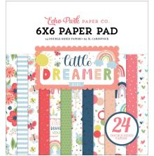 Echo Park Double-Sided Paper Pad 6X6 - Little Dreamer Girl