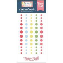 Echo Park Adhesive Enamel Dots 60/Pkg - Little Dreamer Girl