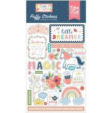 Echo Park Puffy Stickers - Little Dreamer Girl