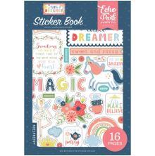 Echo Park Sticker Book - Little Dreamer Girl