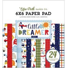 Echo Park Double-Sided Paper Pad 6X6 - Little Dreamer Boy