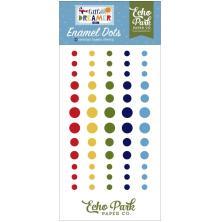 Echo Park Adhesive Enamel Dots 60/Pkg - Little Dreamer Boy