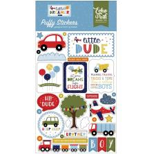 Echo Park Puffy Stickers - Little Dreamer Boy