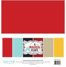 Echo Park Solid Cardstock 12X12 6/Pkg - A Magical Place