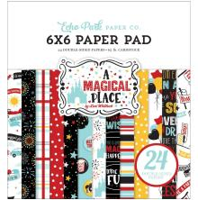 Echo Park Double-Sided Paper Pad 6X6 - A Magical Place