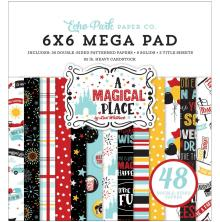 Echo Park Double-Sided Mega Paper Pad 6X6 - A Magical Place