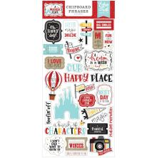 Echo Park A Magical Place Chipboard 6X13 - Phrases