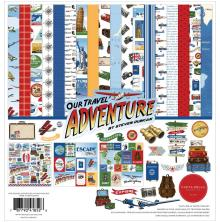 Carta Bella Collection Kit 12X12 - Our Travel Adventure
