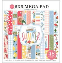 Carta Bella Double-Sided Mega Paper Pad 6X6 - Summer
