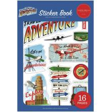 Carta Bella Sticker Book - Our Travel Adventure