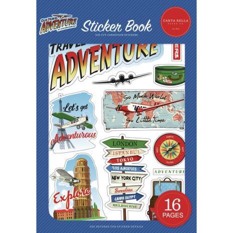 Carta Bella Sticker Book - Our Travel Adventure