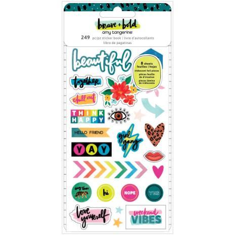 Amy Tan Mini Sticker Book - Brave & Bold