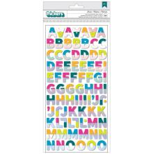 Amy Tan Brave & Bold Thickers Stickers 5.5X11 - Stories Alphabet