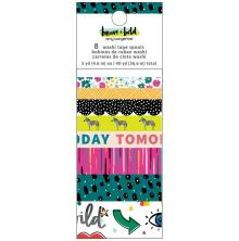 Amy Tan Washi Tape 8/Pkg -  Brave & Bold