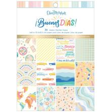 American Crafts Single-Sided Paper Pad 6X8 - Obed Marshall Buenos Dias