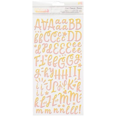 American Crafts Obed Marshall Buenos Dias Thickers Stickers 5.5X11 - Alpha