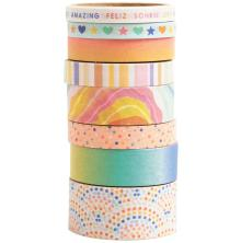 American Crafts Washi Tape 8/Pkg - Buenos Dias