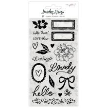 Maggie Holmes Acrylic Stamps 19/Pkg - Garden Party