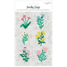 Maggie Holmes Layered Stickers 6/Pkg - Garden Party