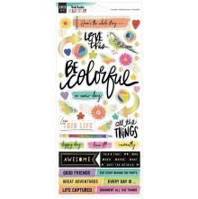 Vicki Boutin Cardstock Stickers 103/Pkg - Color Study