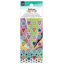 Vicki Boutin Puffy Stickers 48/Pkg - Color Study