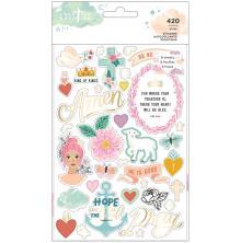 Creative Devotion Draw Near Sticker Book 8/Sheets