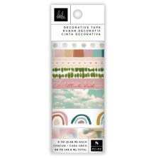 Heidi Swapp Washi Tape Rolls 8/Pkg - Care Free