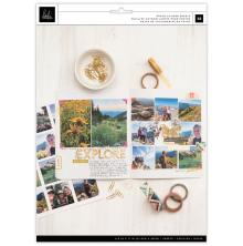 Heidi Swapp Storyline Chapters Photo Paper 8.5X11 12/Pkg - Matte