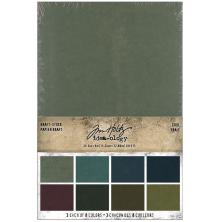 Tim Holtz Idea-Ology Kraft Paper Pad 6X9 24/Pkg - Cool