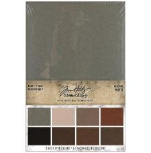 Tim Holtz Idea-Ology Kraft Paper Pad 6X9 24/Pkg - Neutral
