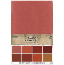 Tim Holtz Idea-Ology Kraft Paper Pad 6X9 24/Pkg - Warm
