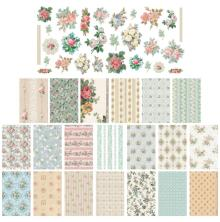 Tim Holtz Idea-Ology Worn Wallpaper 49/Pkg - Scraps
