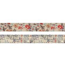 Tim Holtz Idea-Ology Linen Tape 1X3yd 2/Pkg - Floral