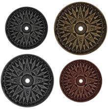 Tim Holtz Idea-Ology Metal Compass Coins 4/Pkg
