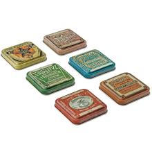 Tim Holtz Idea-Ology Tin Tops 6/Pkg
