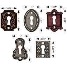 Tim Holtz Idea-Ology Metal Keyholes  5/Pkg