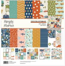 Simple Stories Collection Kit 12X12 - Safe Travels