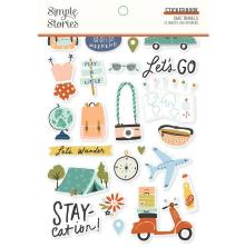 Simple Stories Sticker Book 4X6 12/Pkg - Safe Travels