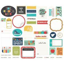 Simple Stories Bits & Pieces Die-Cuts 39/Pkg - School Life Journal