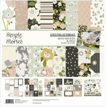 Simple Stories Collection Kit 12X12 - Happily Ever After