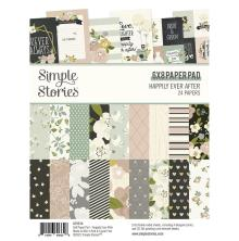 Simple Stories Double-Sided Paper Pad 6X8 - Happily Ever After