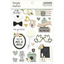 Simple Stories Sticker Book 4X6 12/Pkg - Happily Ever After
