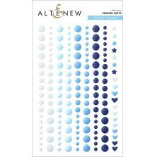 Altenew Enamel Dots 153/Pkg - Glacier Caves