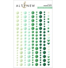Altenew Enamel Dots 153/Pkg - Green Meadows