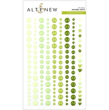 Altenew Enamel Dots 153/Pkg - Tropical Forest