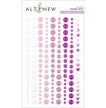 Altenew Enamel Dots 153/Pkg - Shades of Purple