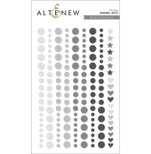 Altenew Enamel Dots 153/Pkg - Rock Collection