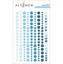 Altenew Enamel Dots 153/Pkg - Cool Summer Night