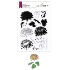 Altenew Clear Stamp And Die Build A flower - Semi-Double Chrysanthemum
